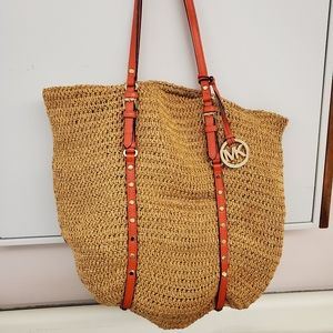 Michael kors limited edition purse basket